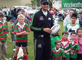 Rabbitohs at Walshs